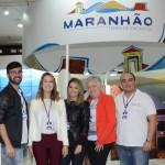 Thiago Palmeira, Cristiane Muller, Cinthia Macedo, Delith Caldas e Leopoldo Dickel, do Maranhão