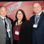Tulio Tsuru, Tatiana Arantes e Giovanni Castro, da United Airlines