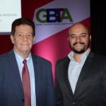 Wellignton Costa, da GBTA, e Vinicius Luz, da Unilever