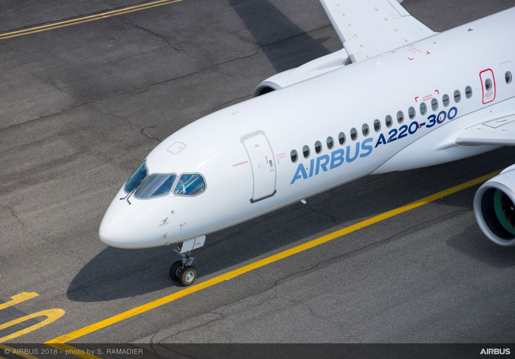 Airbus-A220-300-new-member-of-the-airbus-single-aisle-family-landing-029