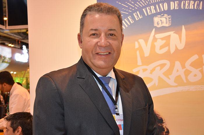 Alexandre Sampaio, presidente Federação Brasileira de Hospedagem e Alimentação (FBHA) e do Conselho de Turismo da Confederação Nacional do Comércio (CNC)