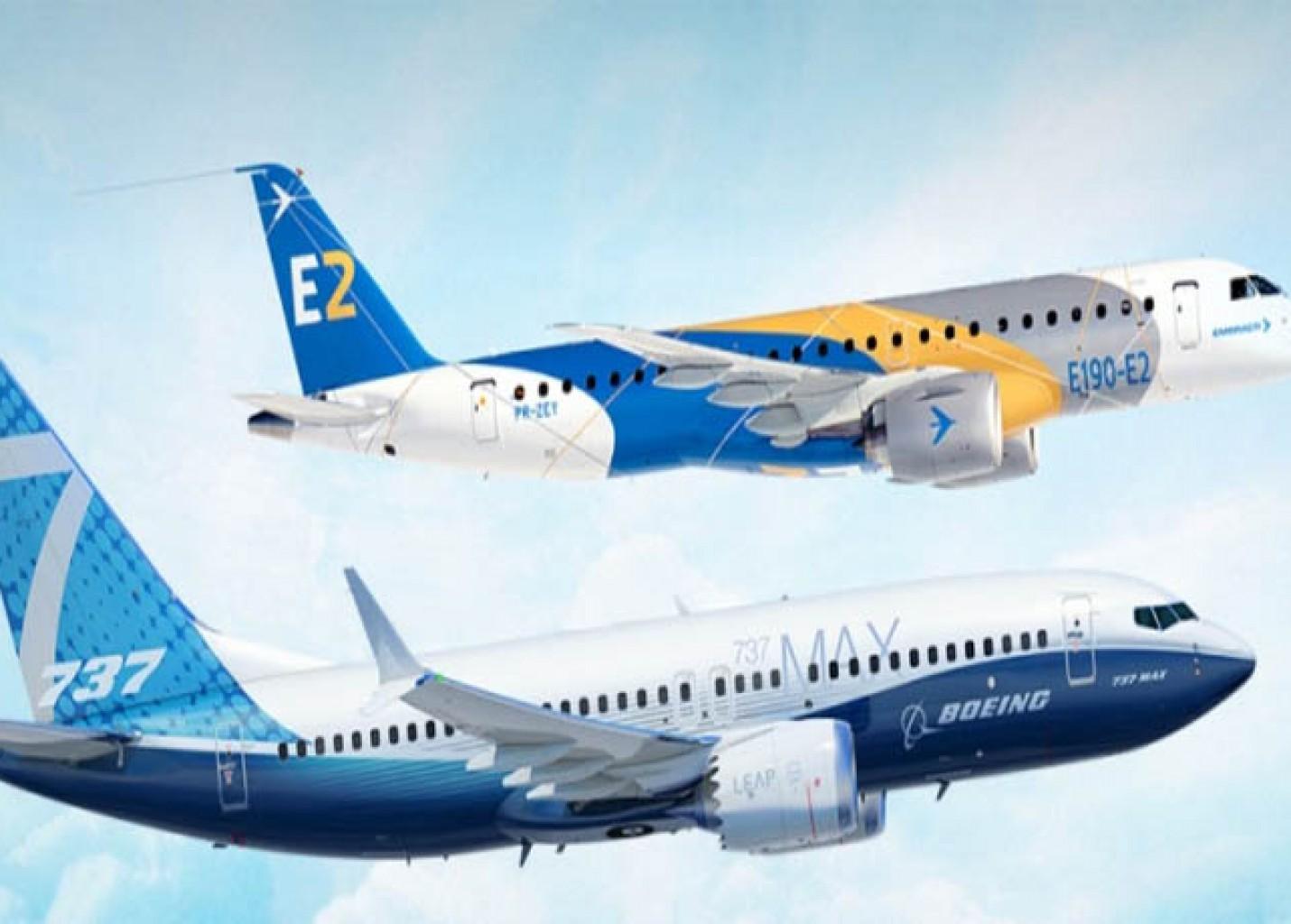 Boeing e Embraer firmam acordo para criação de joint venture avaliada em US$4,7 bi
