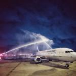 Cerimônia de Batismo da Aeronave no Aeroporto de Fortaleza - Divulgação