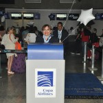 Check-in da Copa Airlines no Aeroporto de Fortaleza