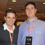 Christiano Nogueira, do Rio for Parters, e Leo Balardjischvili, da C2Rio