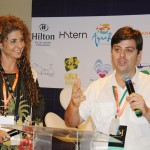 Lully Sampaio e Vicente Cardone, do Rio Alternative Tour