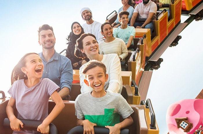 Passageiros da Emirates agora têm privilégios especiais nos parques temáticos do Dubai Park and Resorts