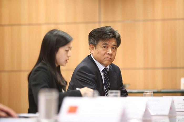 Embaixador Li Jinzhang. Foto: Roberto Castro - Ascom/MTur