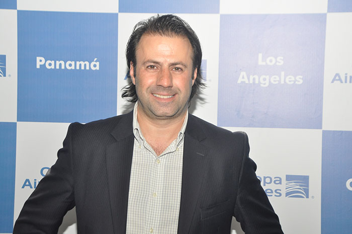 Emerson Sanglard, gerente geral da Copa Airlines no Brasil