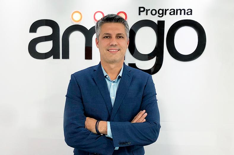 Fabrício Angelin, diretor Geral do Programa Amigo