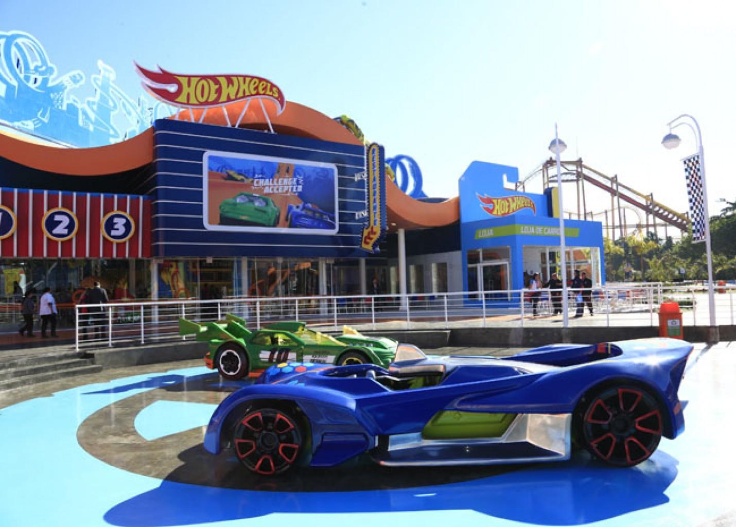 Hot Wheels é a mais nova área temática do Beto Carrero World