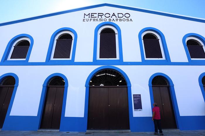 Inauguraçao do Mercado Eufrasio Barbosa em Olinda Crédito: Héloa Scheppa/SEI