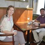 Lucila Nedelciu, da Raidho e Daniel Thompson, da Nova Operadora
