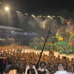 Mais de 35 mil pessoas lotaram a arena para acompanhar os bois Garantido e Caprichoso