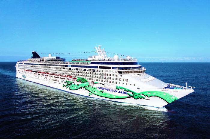 Aerial Norwegian Jewel Norwegian Jewel - Norwegian Cruise Line