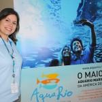 Paula Cristina, do AquaRio