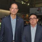 Régis Medeiros, secretário de Turismo de Fortaleza, e Manuel Linhares, presidente da ABIH