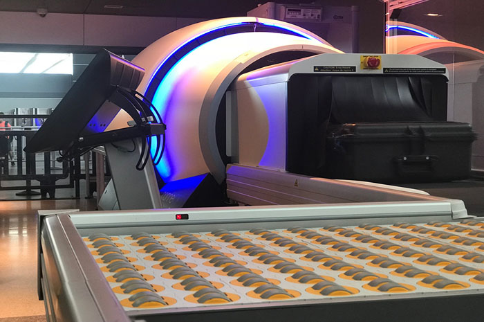 Novo escâner de tomografia computadorizada (TC)