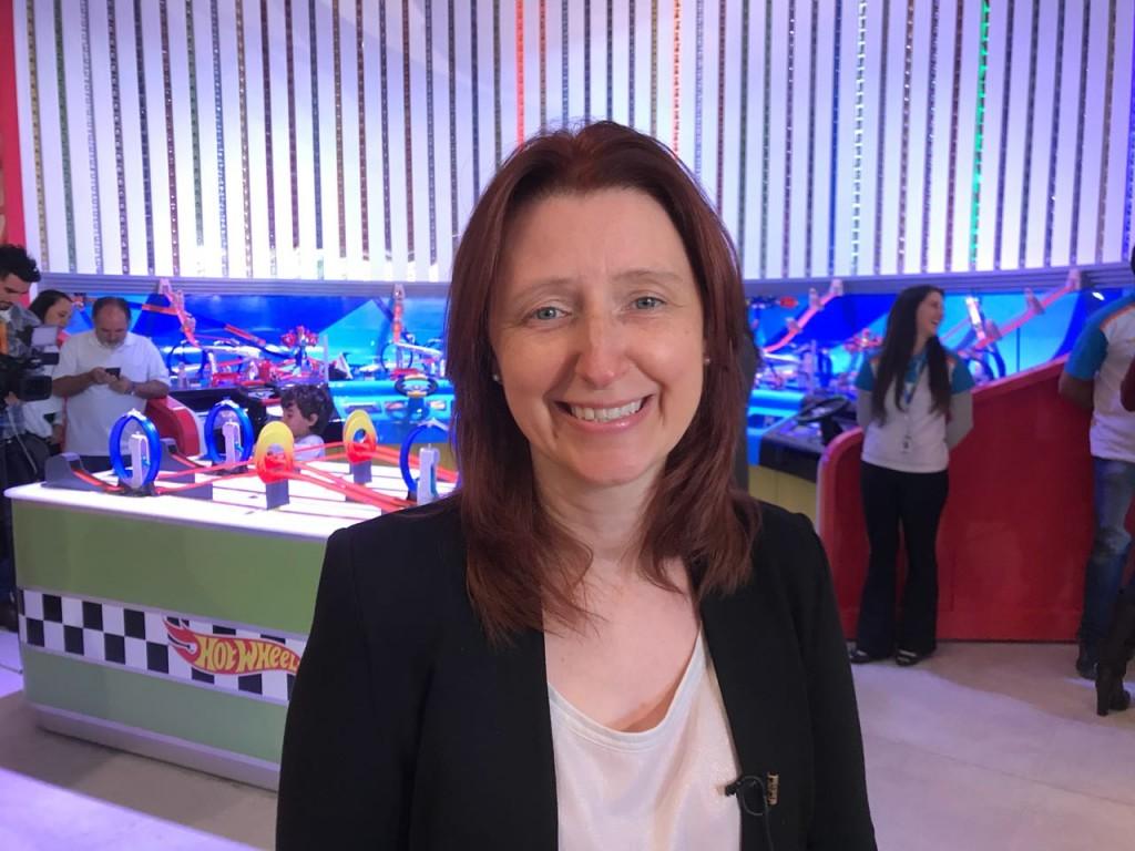 Julie Freeland, diretora sênior da Mattel Global Live Events & Attractions