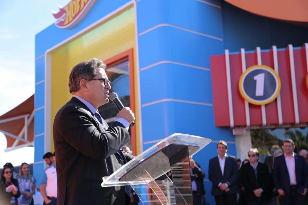 O ministro do Turismo, Vinicius Lummertz, também participou do evento