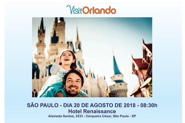 Evento acontece dia 20/08 em São Paulo