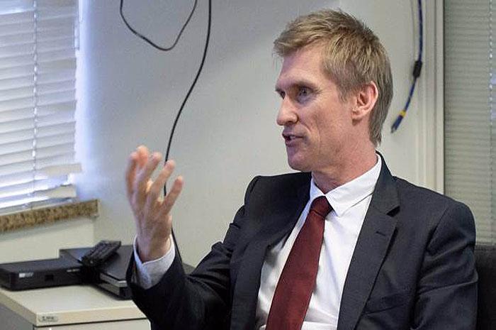 Embaixador da Nova Zelândia no Brasil, Chris Langley