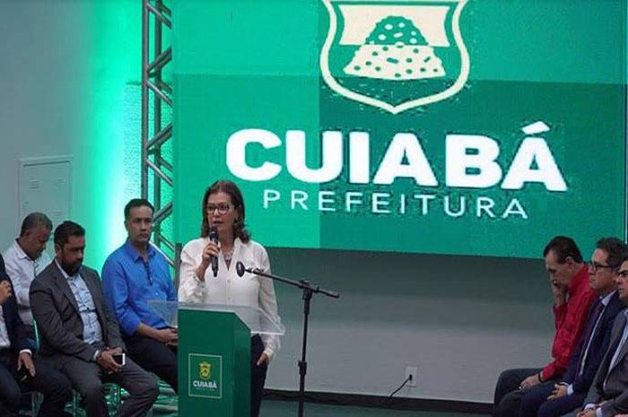 Presidente da Embratur, Teté Bezerra, discursa durante lançamento do Prodetur + Turismo em Mato Grosso