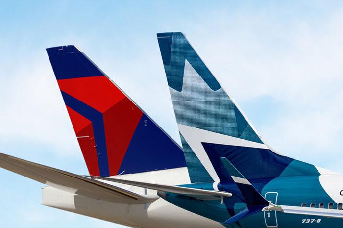 Delta e WestJet criam joint venture transfronteiriça