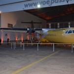 ATR 72-600 da Passaredo personalizado para a parceria