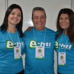 Adriana Senatore, Marcos Vicentini e Andrea Ferreira, e-HTL Viagens