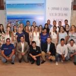 Agentes vencedores da campanha Azul da Cor do Mar de Alagoas