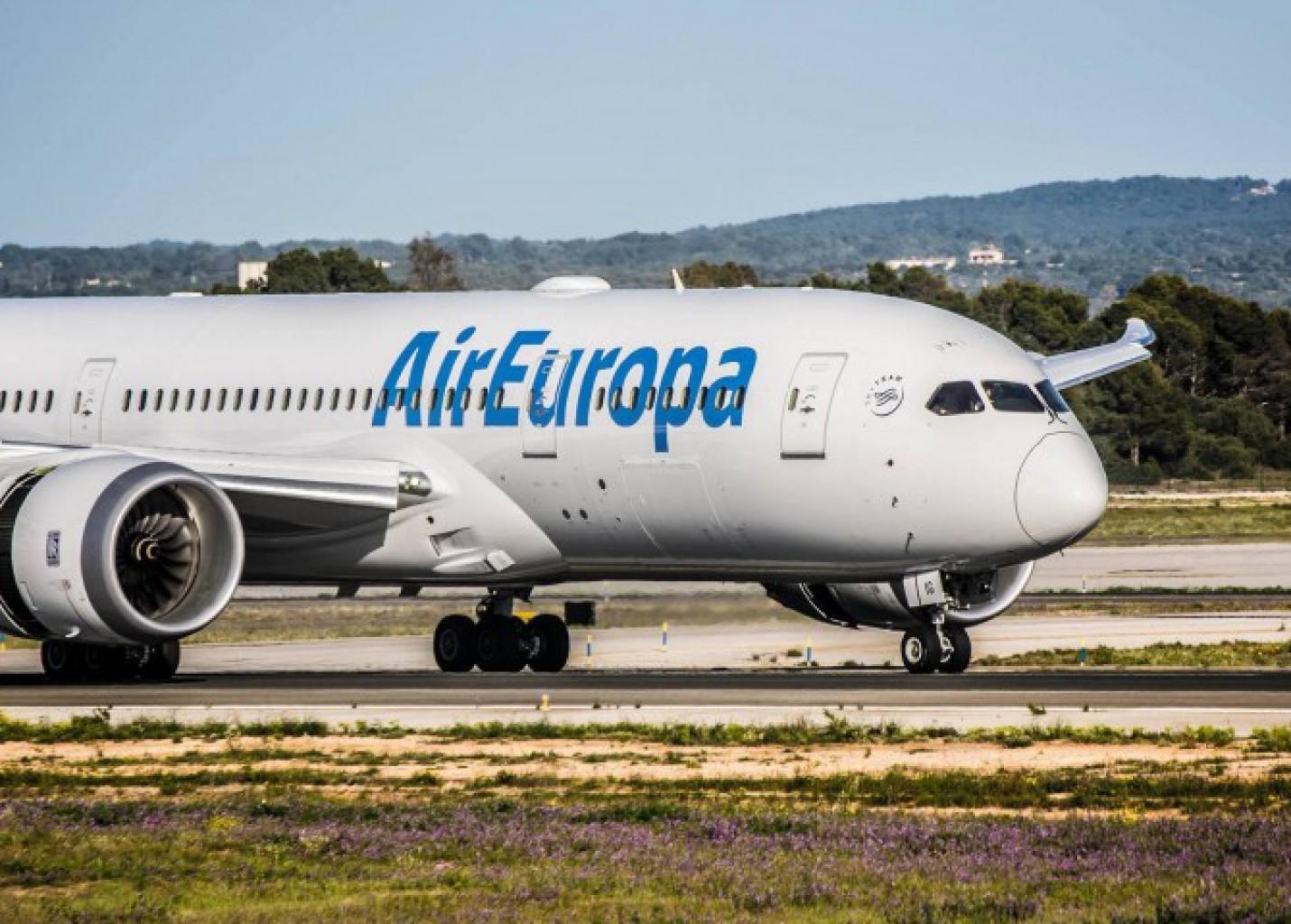 Air Europa passará a operar mais dois voos semanais entre Fortaleza e Madri