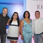 Alan França, Julia Meira, Izabella Lessa e Ricardo Bezerra, da Azul Viagens