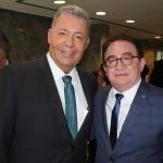 Alexandre Sampaio, presidente da Cetur, e Manoel Linhares, presidente da ABIH Nacional