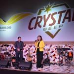 Anúncio da parceria entre Passaredo e Crystal ocorreu no hangar em Ribeirão Preto
