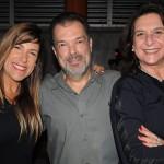 Ana Paula Schuch, da American Airlines, Henrique Jaimovich, da Plantel Turismo, e Angelica Trés, da ABC Tour