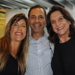 Ana Paula Schuch, da American, com Jorge Adayme e Angélica Trés, da ABC Turismo