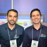 André Reis, diretor de Turismo da Prefeitura de Ipojucá, e Daniel Jacarandá, da Associação dos Hotéis de Porto de Galinhas
