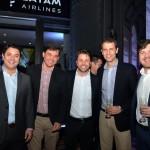 Antenor Soares e Daniel de Almeida, da Latam, André Khouri, da CNT, Marvio Mansur, da SkyTeam, e Marco Aurelio Di Ruzze, do Grupo BRT