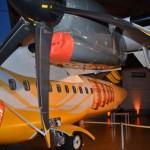 Avião personalizado da parceria entre Passaredo e Crystal