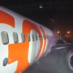 Boeing 737 MAX estava no hangar da Gol em Congonhas