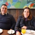 Bruno Venâncio e Juçara Serrano, da April