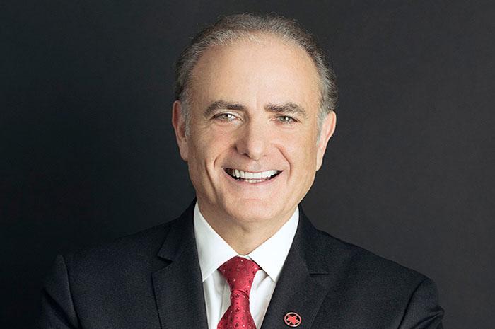 Calin Rovinescu, Presidente e CEO da Air Canada.