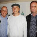 Carlos Eduardo Sixel e Marcelo Florêncio, da TurisPetro, com José Augusto, da Grand Vallée