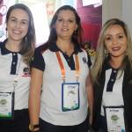 Carolina Marçal, Michelle Ribeiro e Viviane Maia, do Beto Carrero