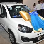 Carro zero quilômetro foi o prêmio da vencedora da campanha