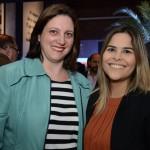 Claudia Valerio e Patricia Gomes, da Latam Travel
