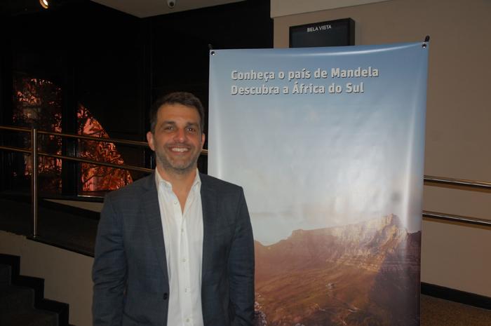 Marcelo Marques, responsável pelo contato com o trade na South African Tourism