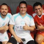 Diego de Oliveira, Elvis e Eliomar Gonçalves, da AGM Turismo