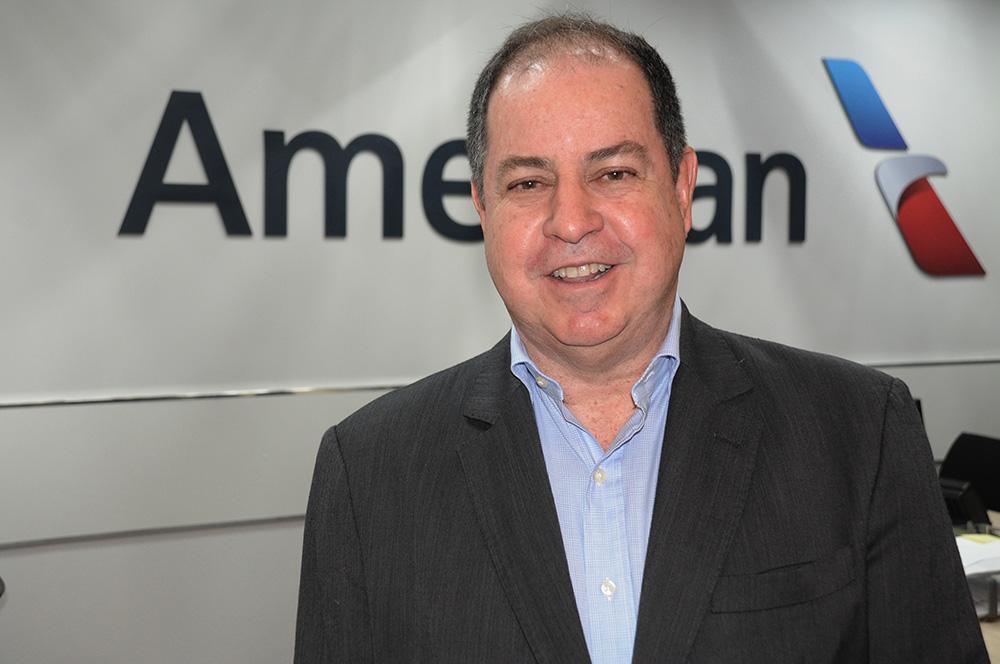 Dilson Verçosa, diretor da American Airlines no Brasil